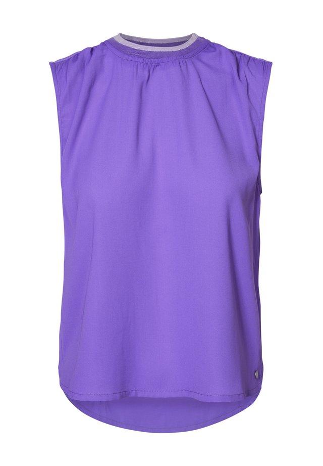Bluzka - electric purple
