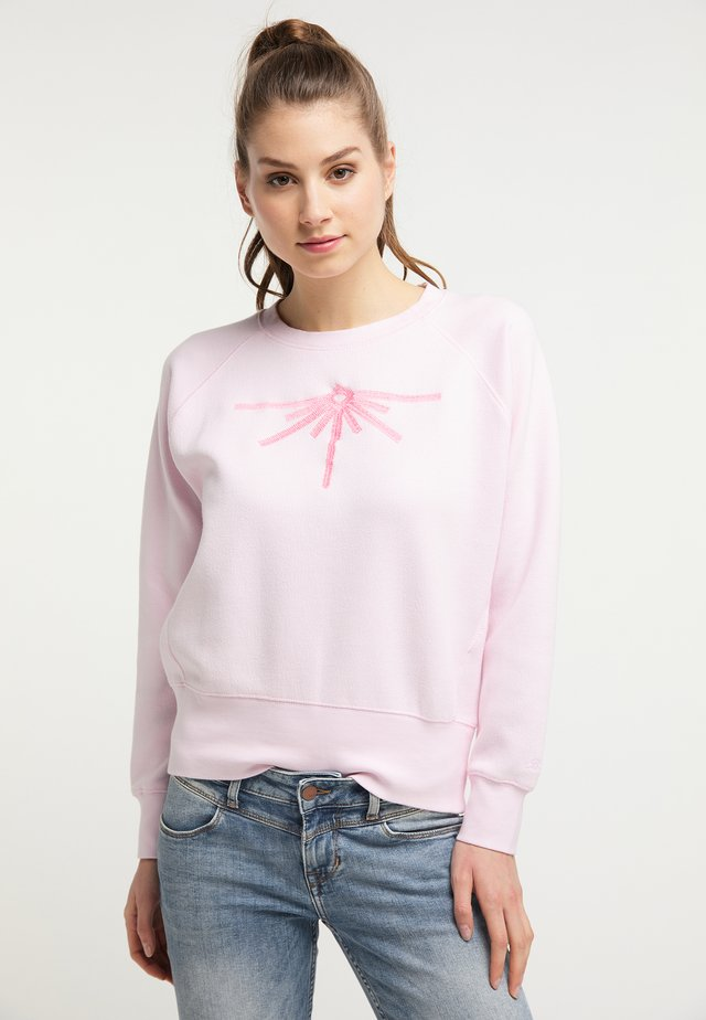 PETROL INDUSTRIES SWEATSHIRT - Mikina - cherry blossom
