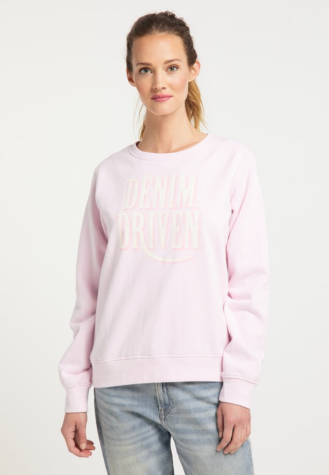 PETROL INDUSTRIES SWEATSHIRT - Bluza - cherry blossom