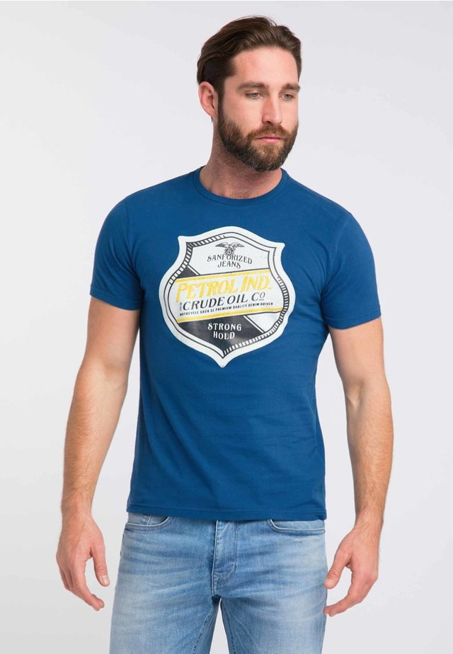 T-shirt con stampa - royal blue