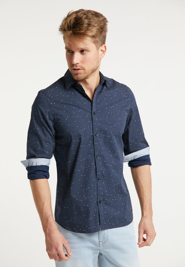PETROL INDUSTRIES HEMD - Camicia - deep navy