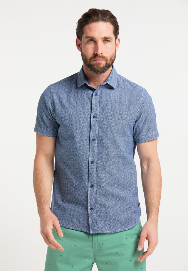 KURZARMHEMD - Shirt - deep navy