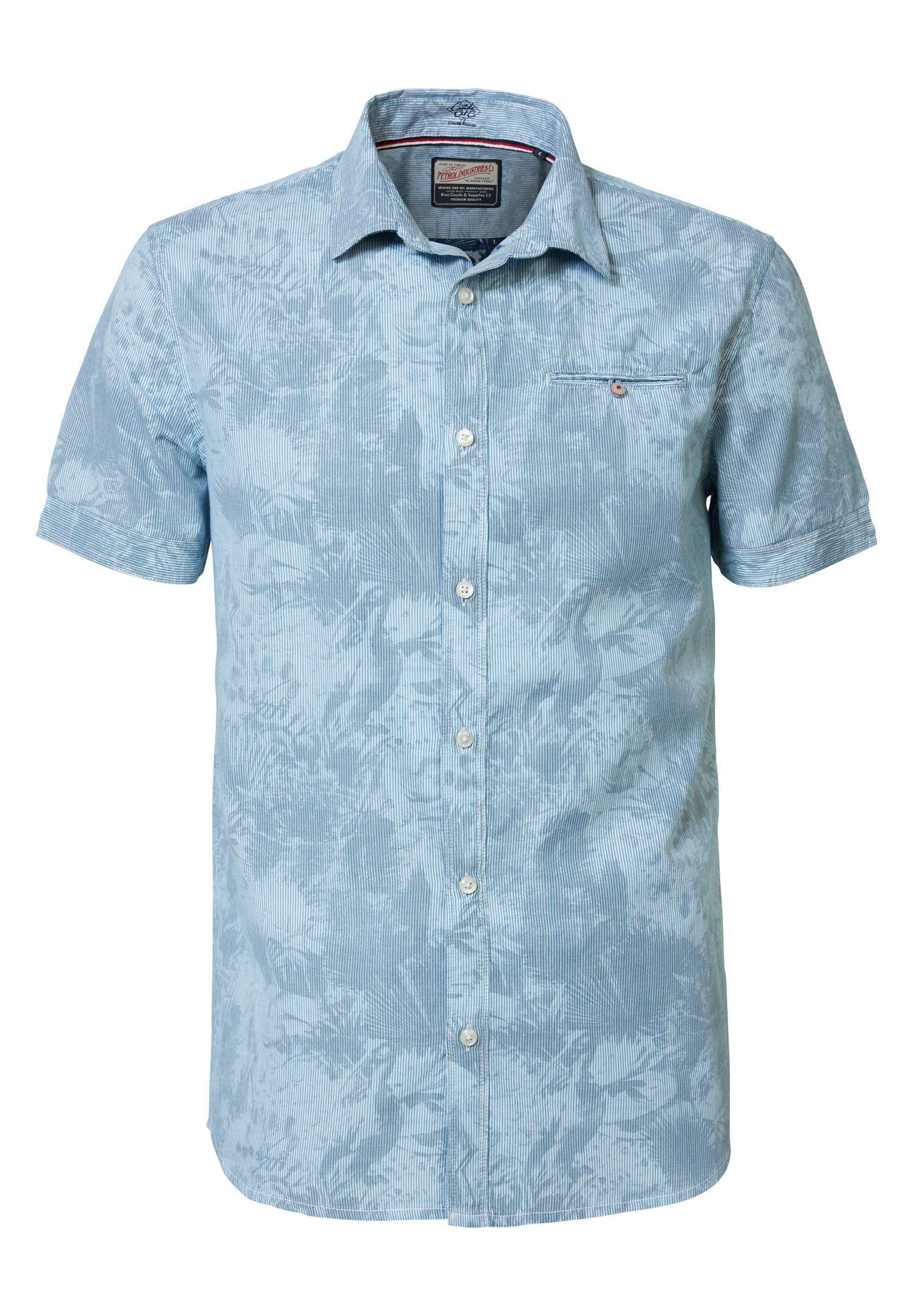 Petrol Industries Camicia - Faded Turquoise gbFLk