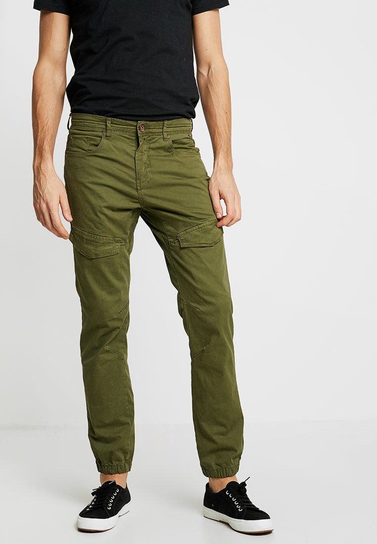Petrol Industries - Cargo trousers - green stone