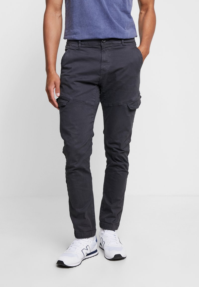 Petrol Industries - Cargo trousers - raven grey