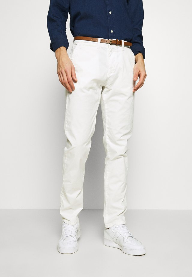 Chinos - chalk white