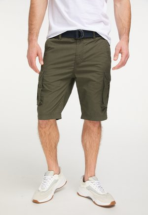 PETROL INDUSTRIES CARGOSHORTS - Shorts - dark army