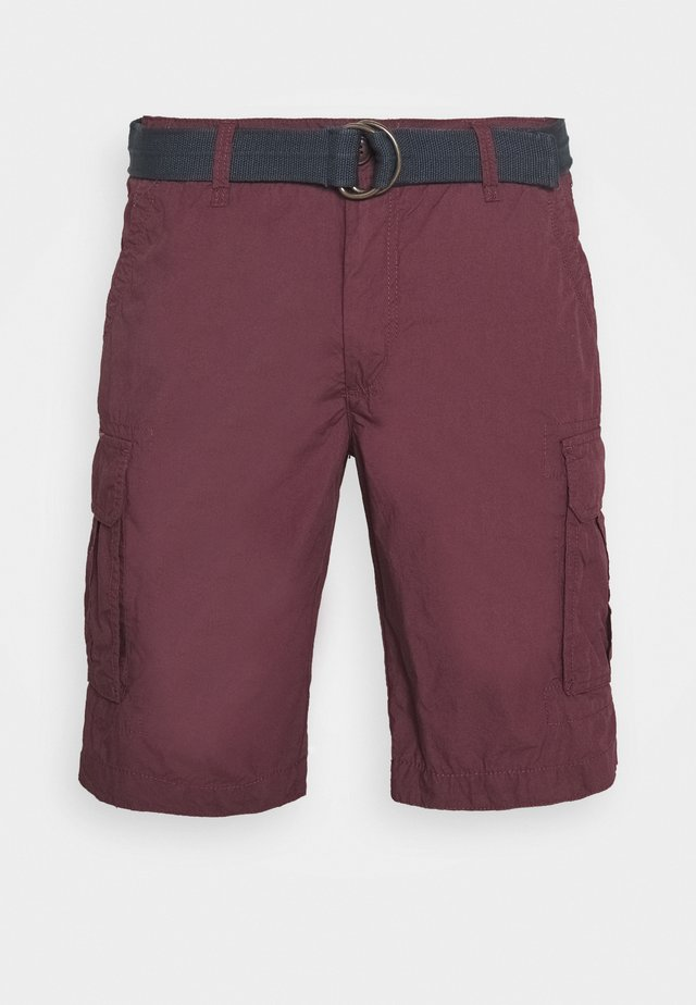 Shortsit - burgundy