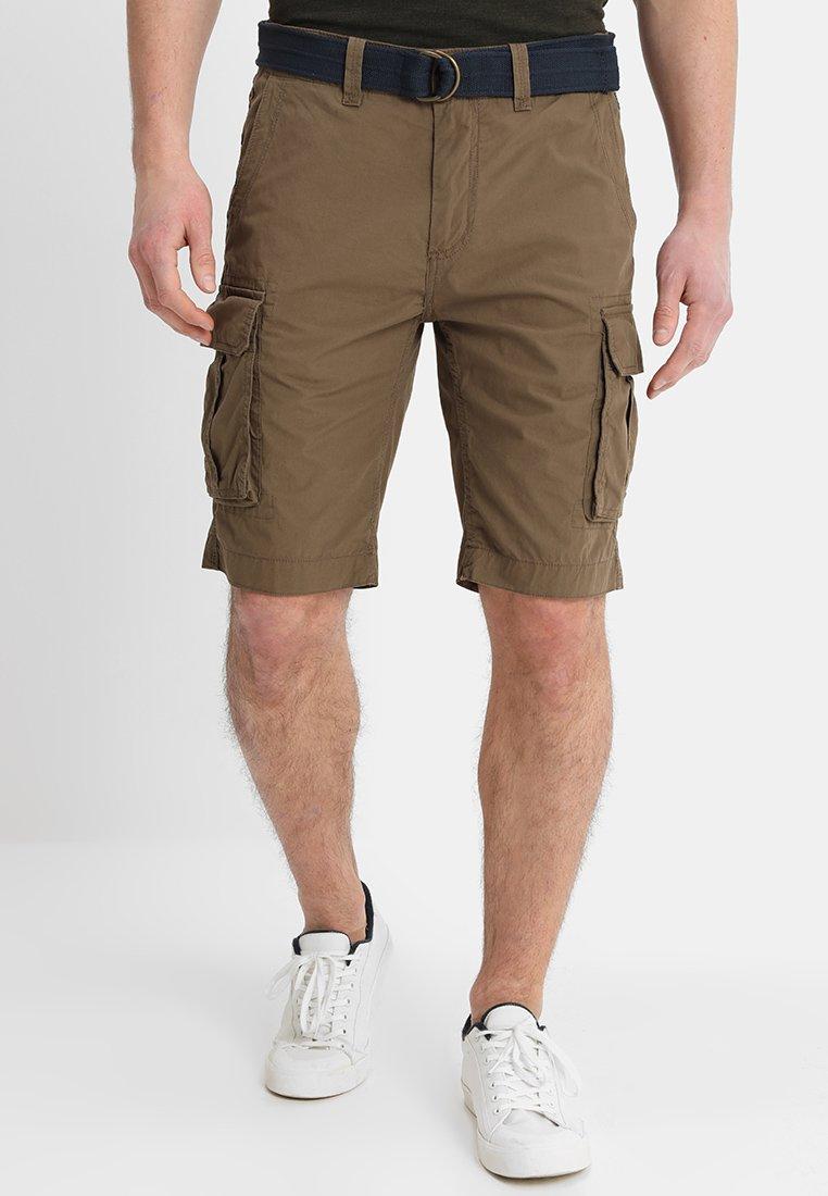 Bruine Shorts heren online kopen   ZALANDO