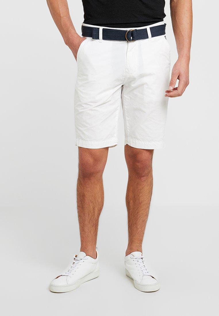 Petrol Industries - BELT - Shorts - chalk white