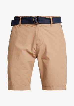 BELT - Shorts - dark tobacco