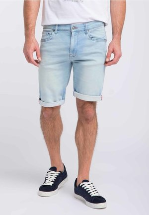 Jeansshort - light blue