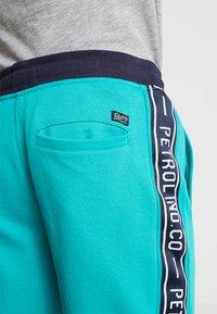 Petrol Industries - Teplákové kalhoty - miami green - 3