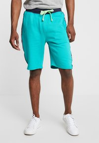 Petrol Industries - Teplákové kalhoty - miami green - 0