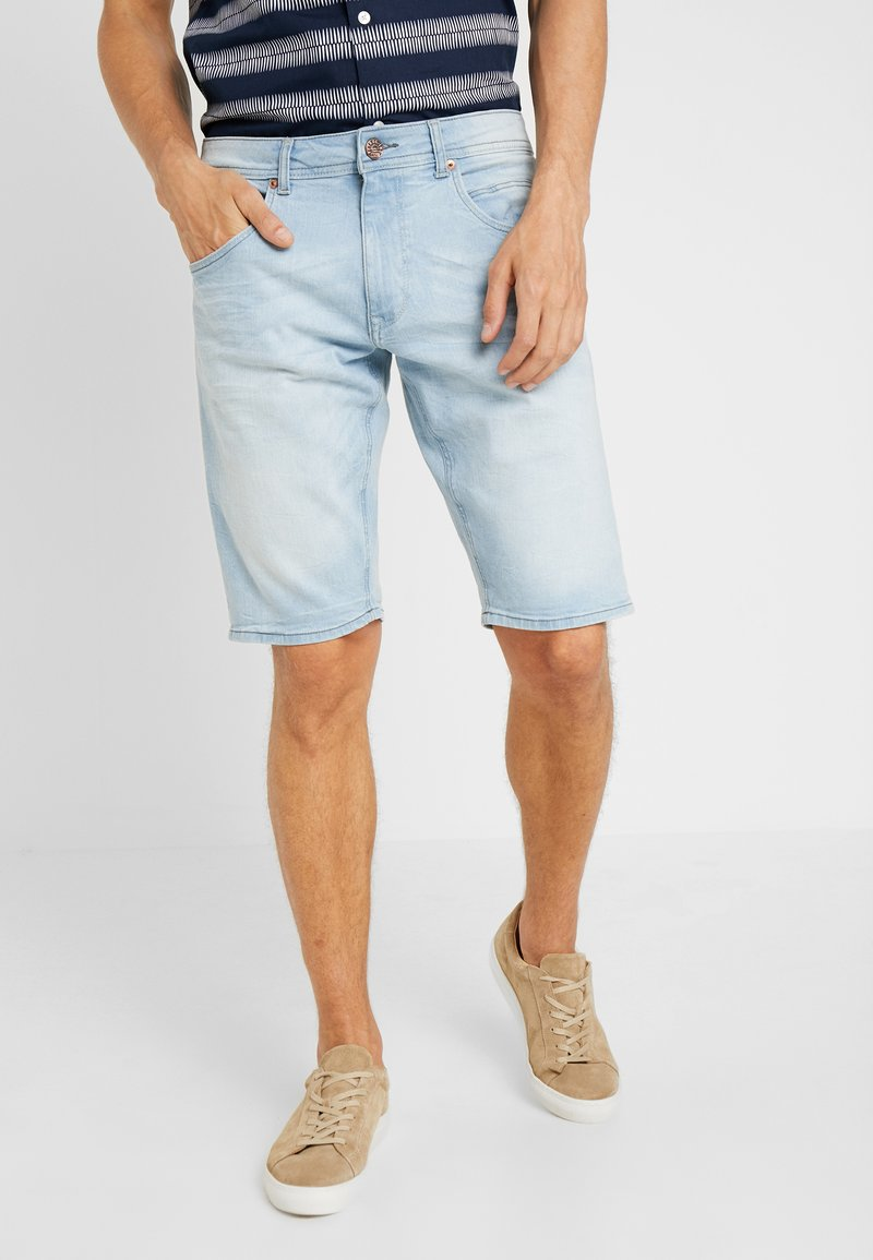 Petrol Industries - Denim shorts - light blue denim