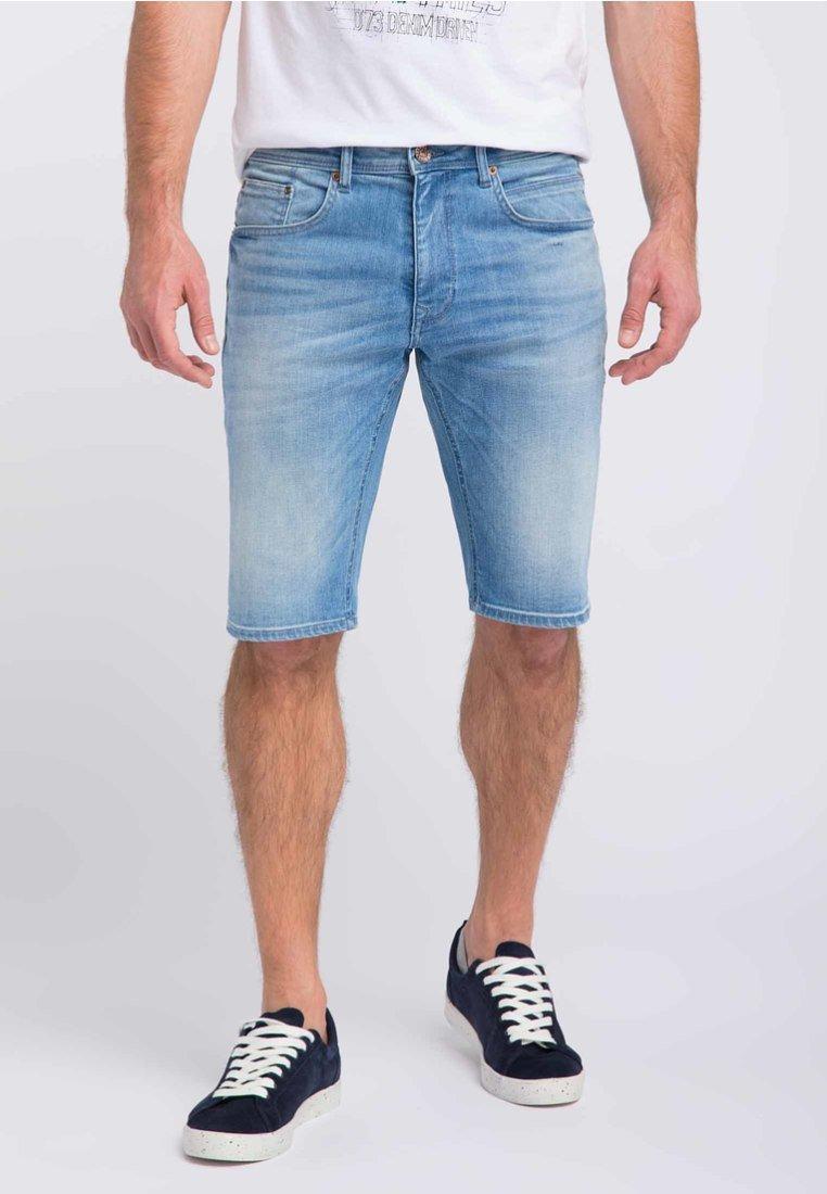 Petrol Industries - Denim shorts - light blue