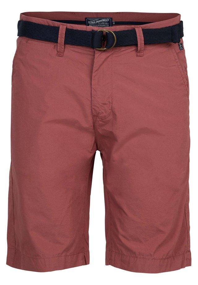 Shorts - light maroon