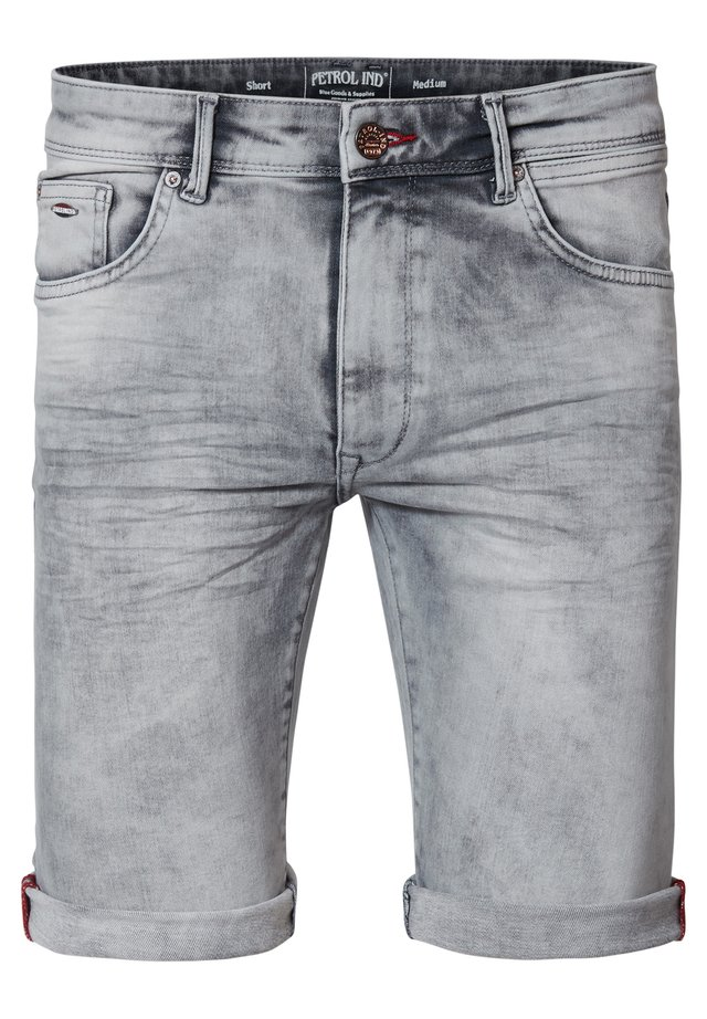 Jeans Shorts - dusty silver