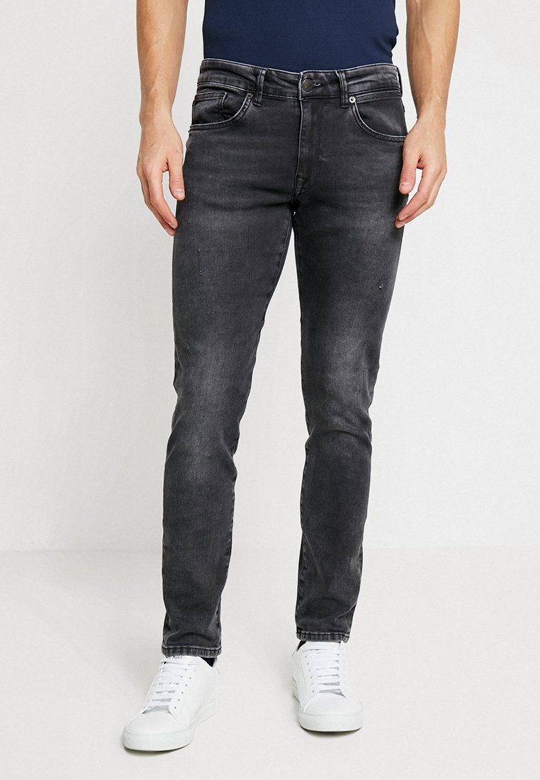 Petrol Industries - SEAHAM - Jeans Slim Fit - grey denim