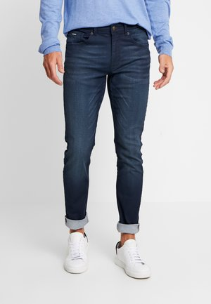 SEAHAM COATED - Jeansy Slim Fit - midnight blue