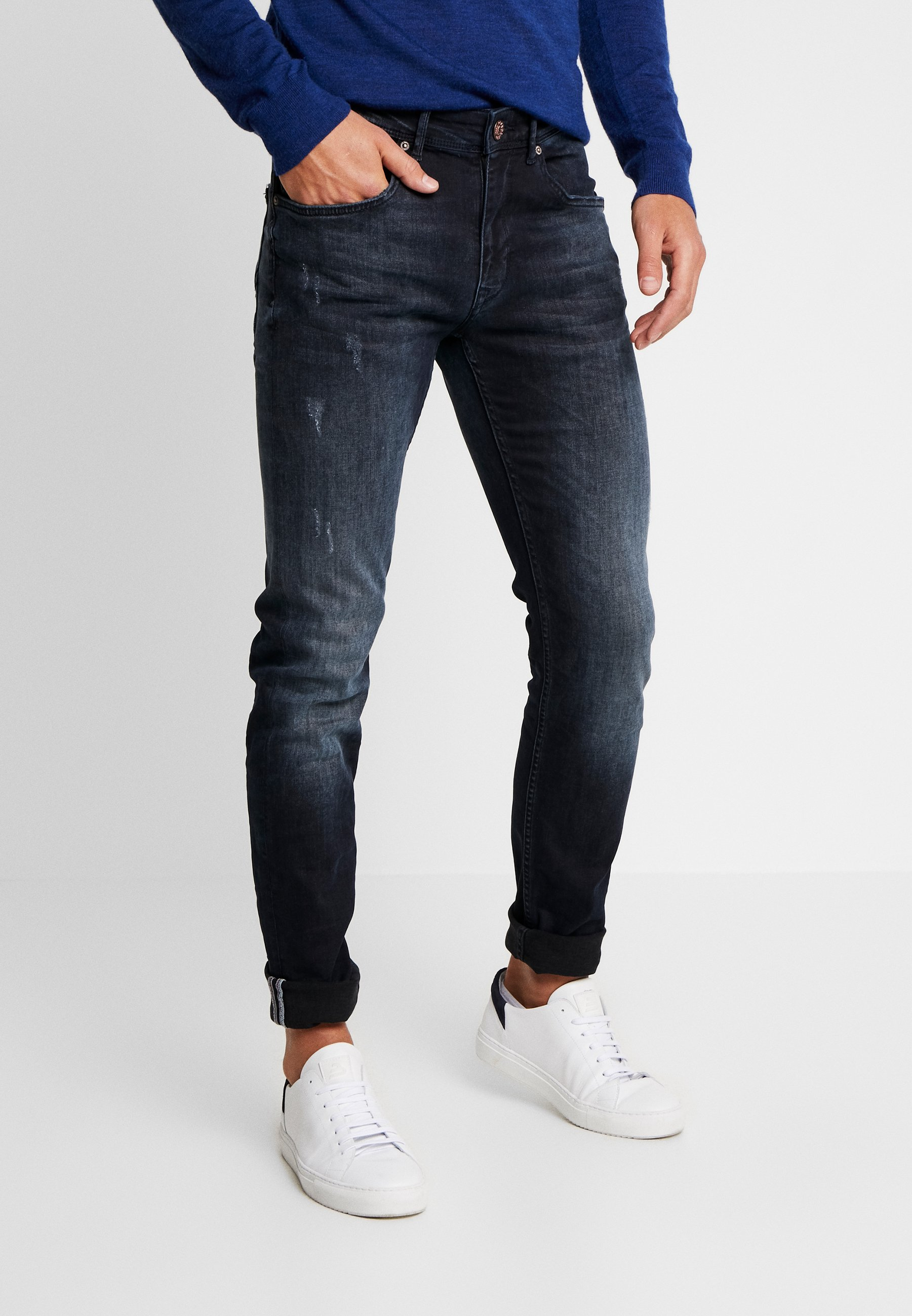 Industries Denim Blue Petrol black SeahamJean Slim sotxQdBhrC