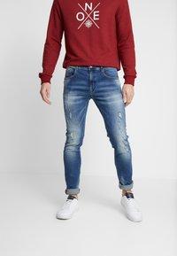 Petrol Industries - SEAHAM REPAIR - Slim fit jeans - midnight blue - 0