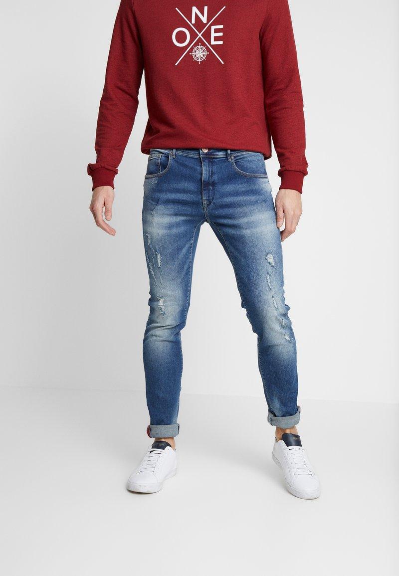 Petrol Industries - SEAHAM REPAIR - Slim fit jeans - midnight blue