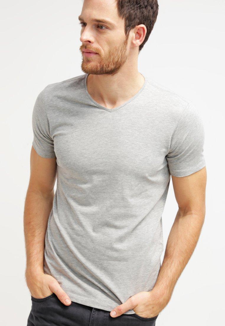 Petrol Industries - 2 PACK - T-Shirt basic - grey