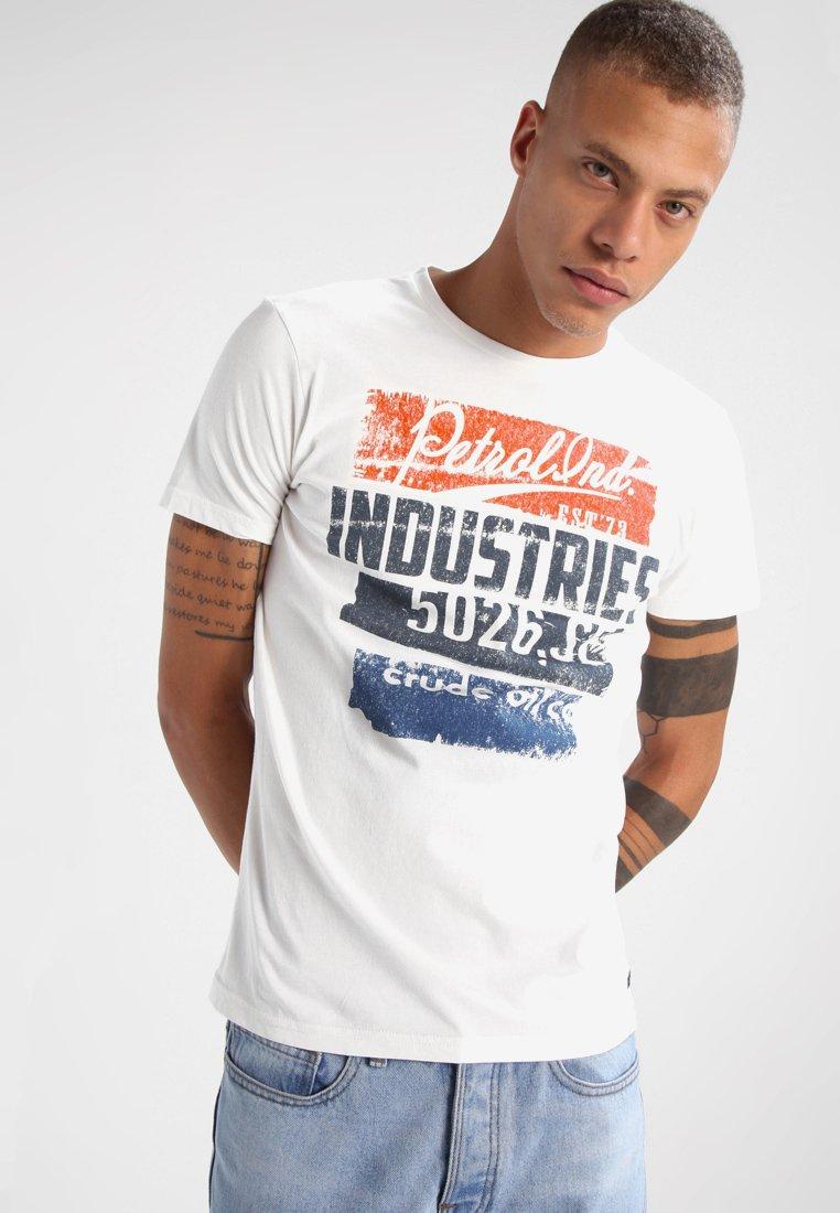 Petrol Industries - T-Shirt print - shalk white
