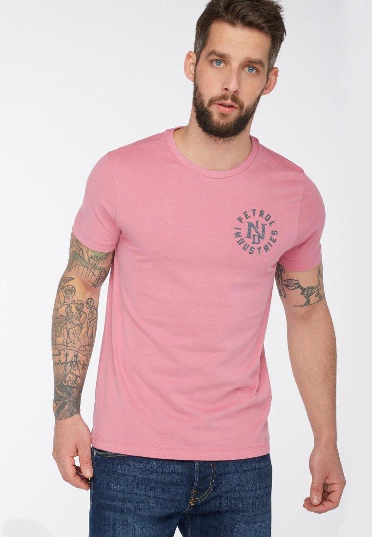 Petrol Industries - Print T-shirt - pink