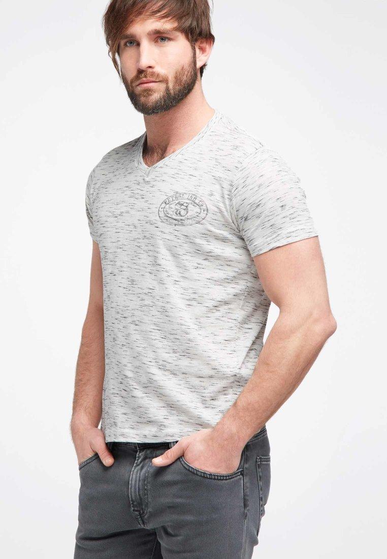 Petrol Industries - T-Shirt basic - light grey