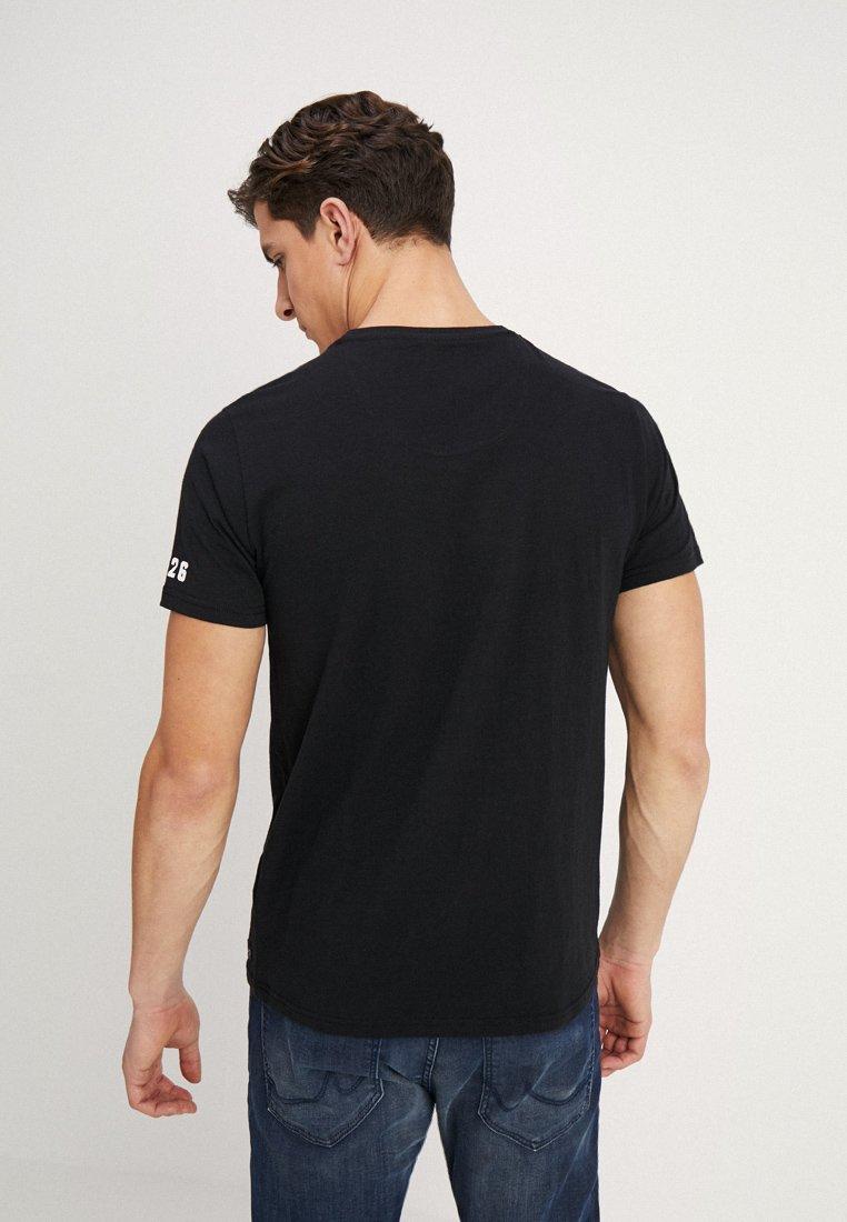 shirt Petrol Industries Petrol T ImpriméBlack Industries KuFJc3lT15