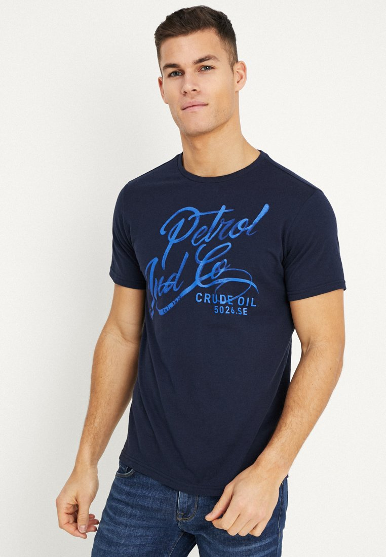 Imprimé Industries OptionT shirt Capri Deep Petrol xthQrCds