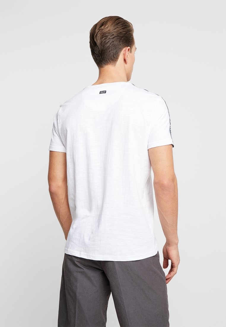 Petrol ImpriméBright White T shirt Industries E9I2DH