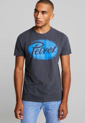 Print T-shirt - raven grey