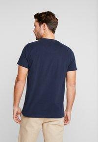 Petrol Industries - T-shirt med print - deep navy - 2