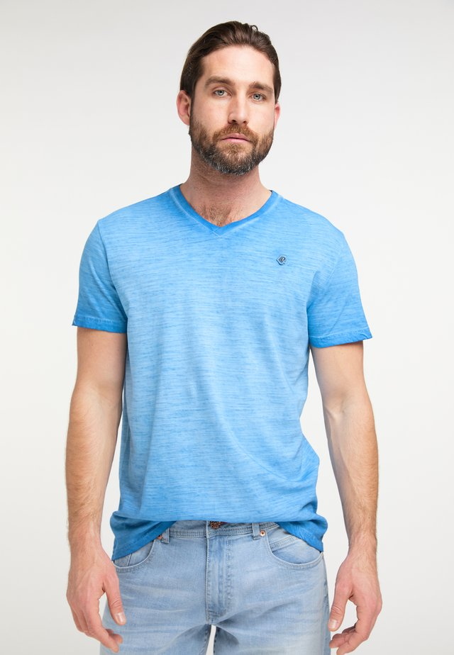 T-Shirt basic - electric blue