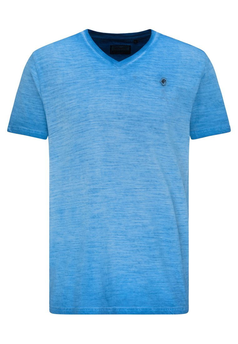 Petrol Industries T-shirt basic - electric blue