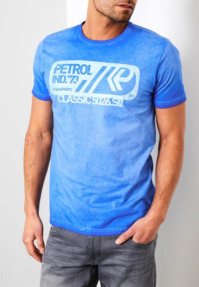 Print T-shirt - light capri