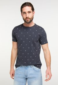 Petrol Industries - T-shirt print - deep navy - 4