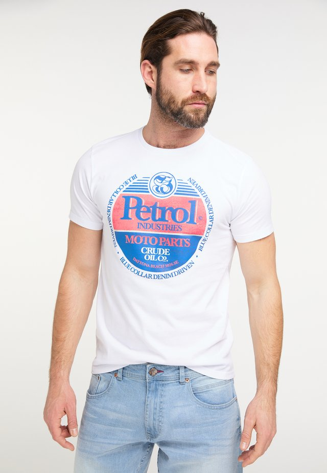 T-Shirt print - bright white