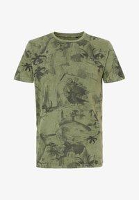 Petrol Industries - T-shirt print - greenstone - 3