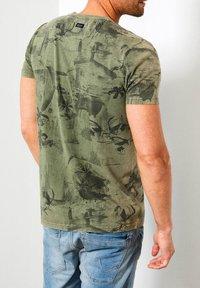 Petrol Industries - T-shirt print - greenstone - 1