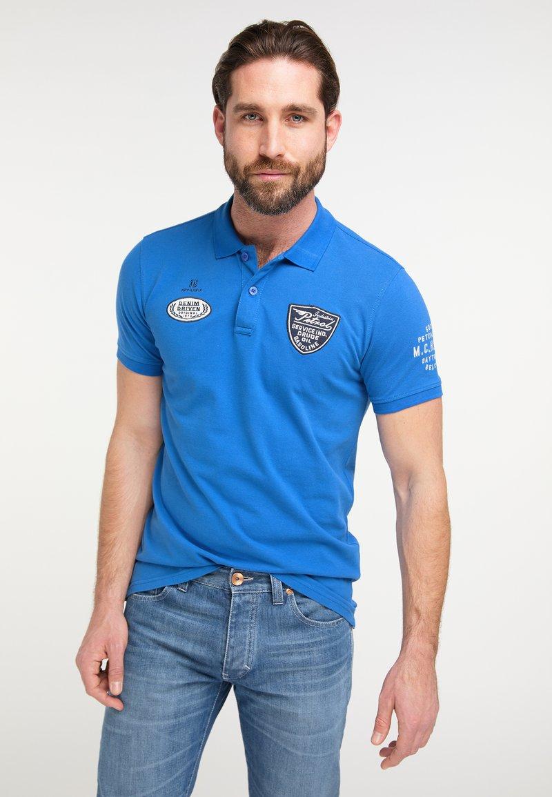 Petrol Industries - Polo - daytona blue
