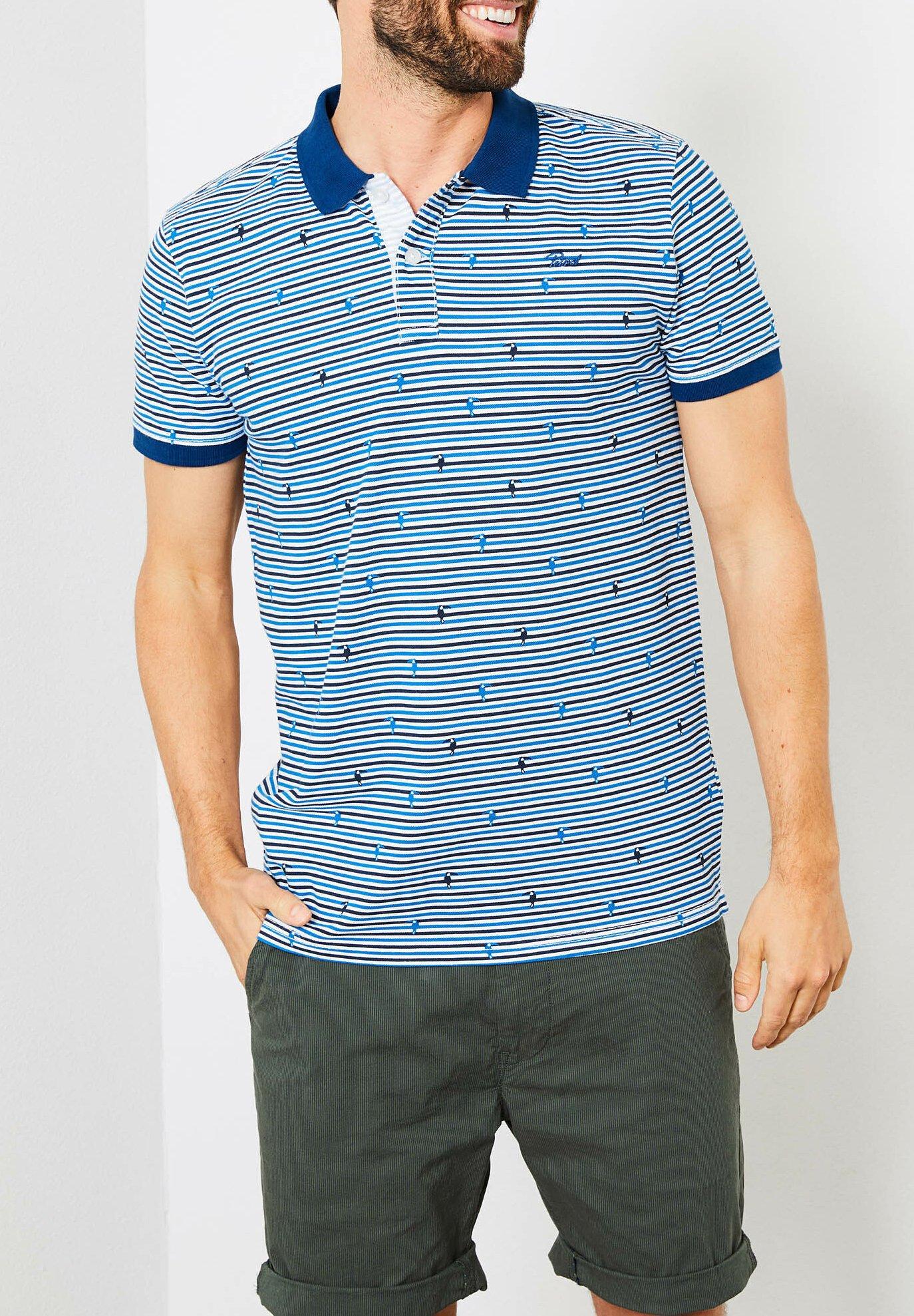 Najlepszy sprzedawca Gorąca wyprzedaż Petrol Industries Koszulka polo - electric blue   Odzież męska 2020 StgDb