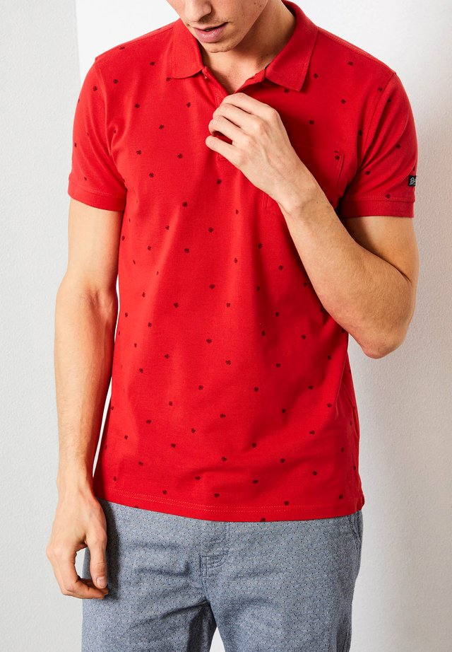 Poloshirt - imperial red