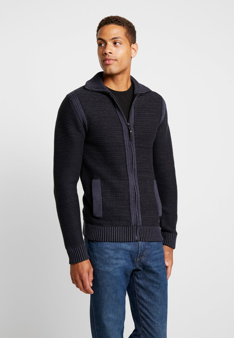 Petrol Industries - Strickjacke - deep capri