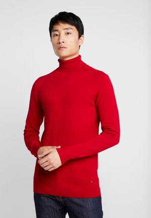 Pullover - fire red