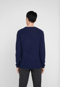 Petrol Industries - CREW NECK - Trui - deep navy - 2