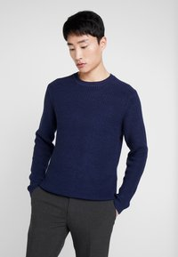 Petrol Industries - CREW NECK - Trui - deep navy - 0